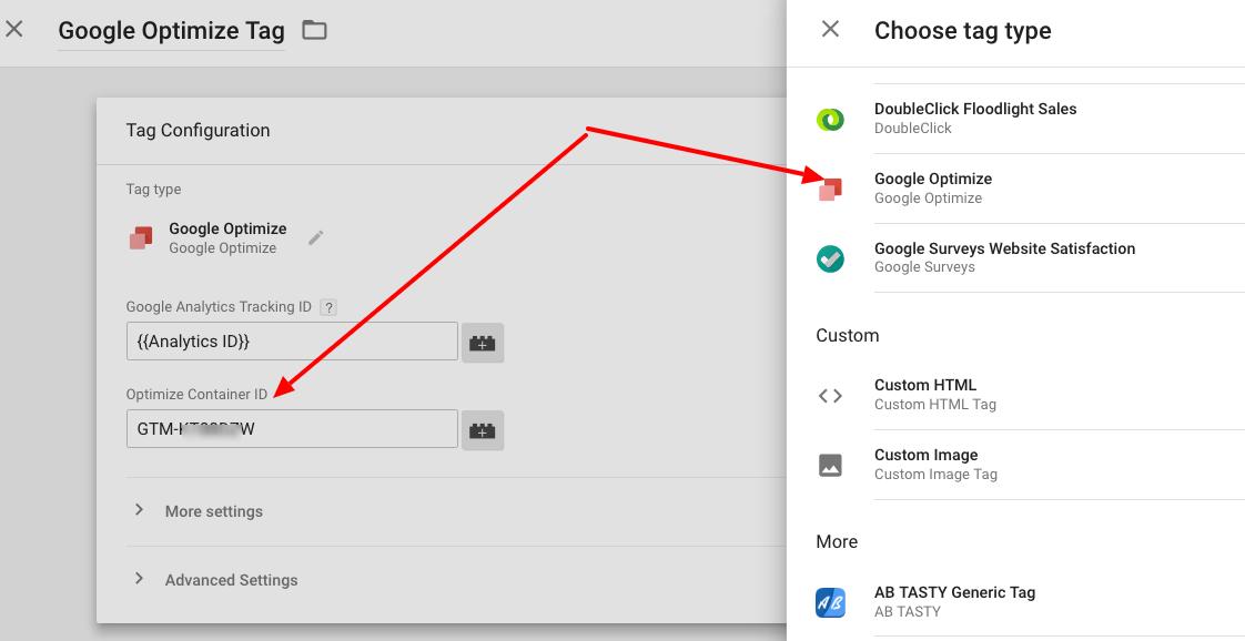 Google optimize help