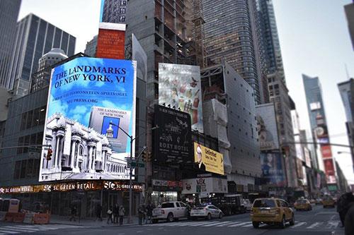 نمایشگرهای دیجیتال میدان تایمز