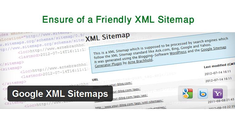 اطمینان از نقشه سایت xml
