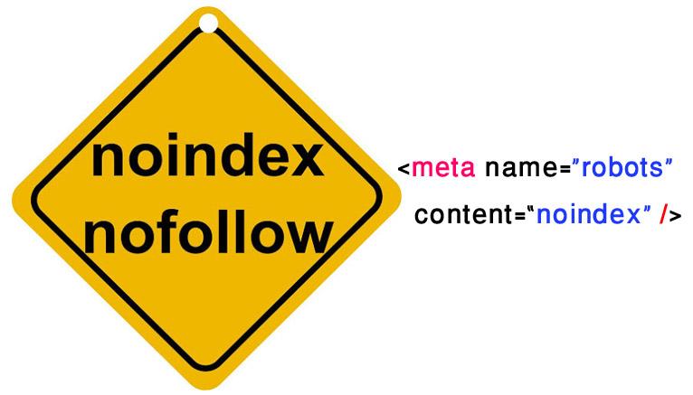noindex کد
