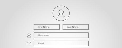 فرمهای سایت را ساده طراحی کنید