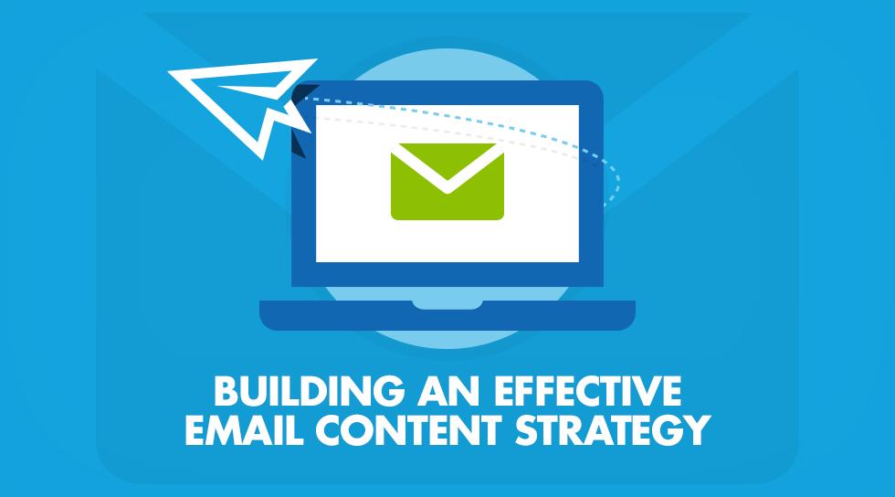 استراتژی محتوایی برای ایمیل