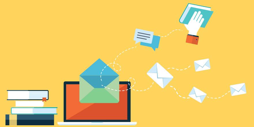 دسته بندی فهرست ایمیل های کاربران